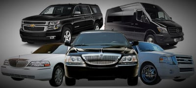 Various Types of Vehicles in a Fleet of of Toronto Airport Limousine